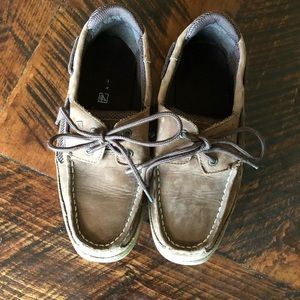 Boys Sperry Top Sider shoes size youth 4